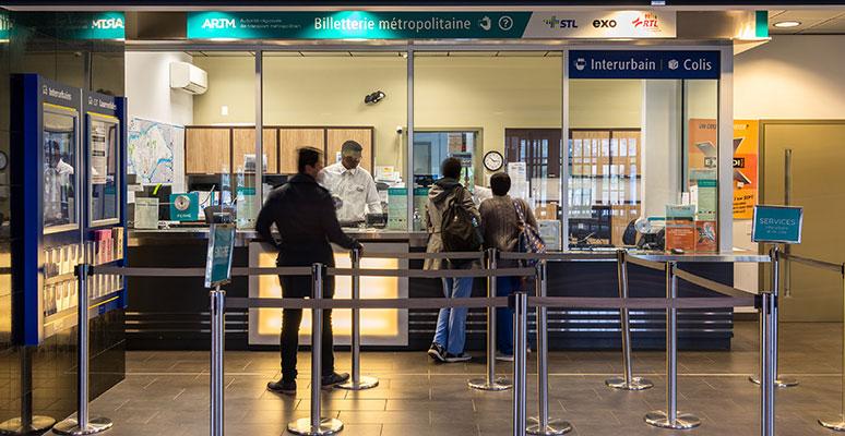 Metropolitan ticket offices