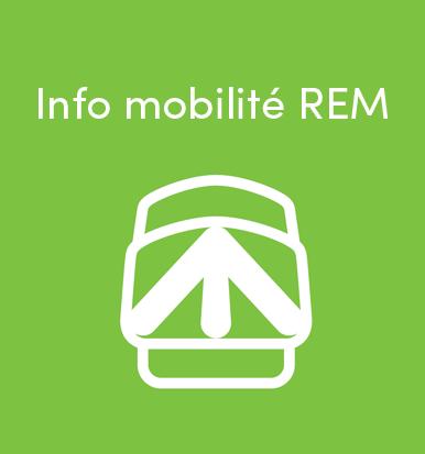Info mobilité REM