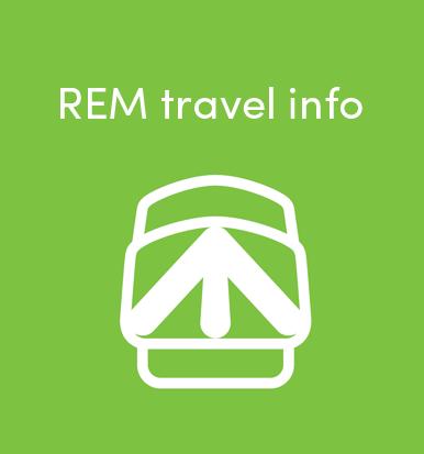 REM travel info