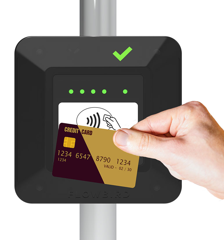 Payment by credit card or smartphone: soon available in all our buses!
